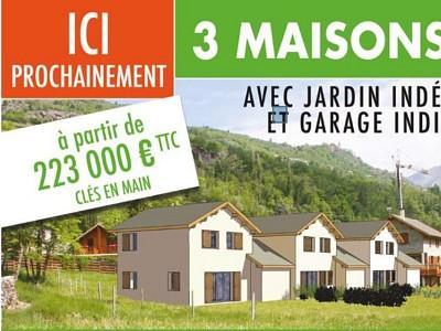 MAISON A VENDRE - BRIANCON - 69,95 m2 - 223000 €