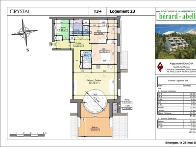 APARTMENT 4 ROOMS NEW FOR SALE - MONTGENEVRE VILLAGE - 84,19 m2 - 551 444 €
