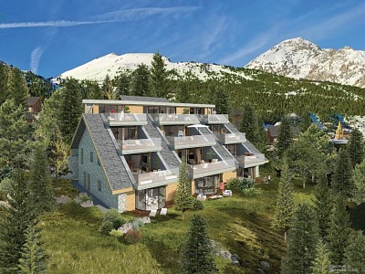 APARTMENT 4 ROOMS NEW FOR SALE - MONTGENEVRE VILLAGE - 83,72 m2 - 552 552 €