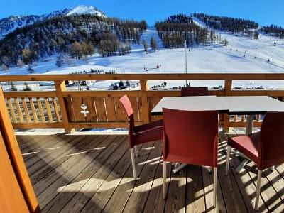 APARTMENT 3 ROOMS FOR SALE - MONTGENEVRE RESIDENCE DE TOURISME - 55,4 m2 - 400000 €