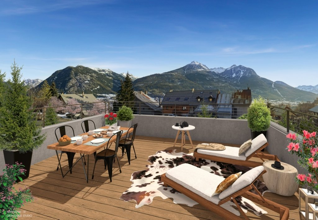 CHALET NEUF - PUY ST PIERRE - 117,4 m2 - 365 000 €
