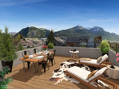 CHALET NEW FOR SALE - PUY ST PIERRE - 117,4 m2 - 358 000 €