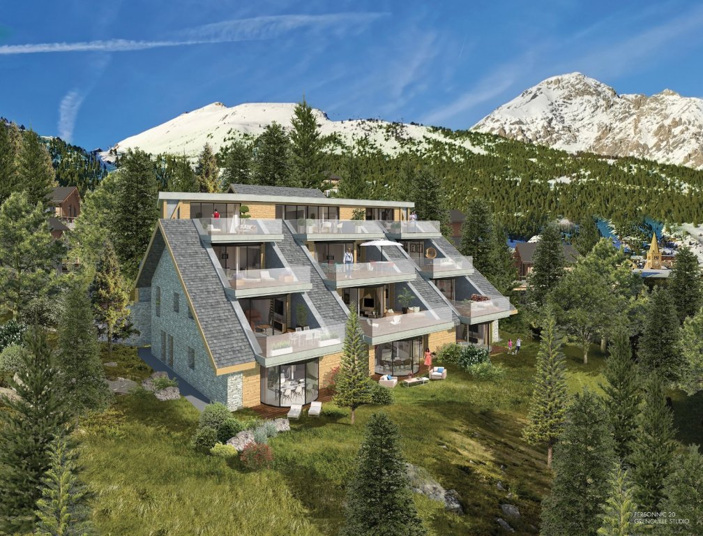 NEW REAL ESTATE NEW FOR SALE - MONTGENEVRE VILLAGE
