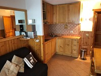 APARTMENT 2 ROOMS FOR SALE - MONTGENEVRE VILLAGE - 23,81 m2 - 144 000 €