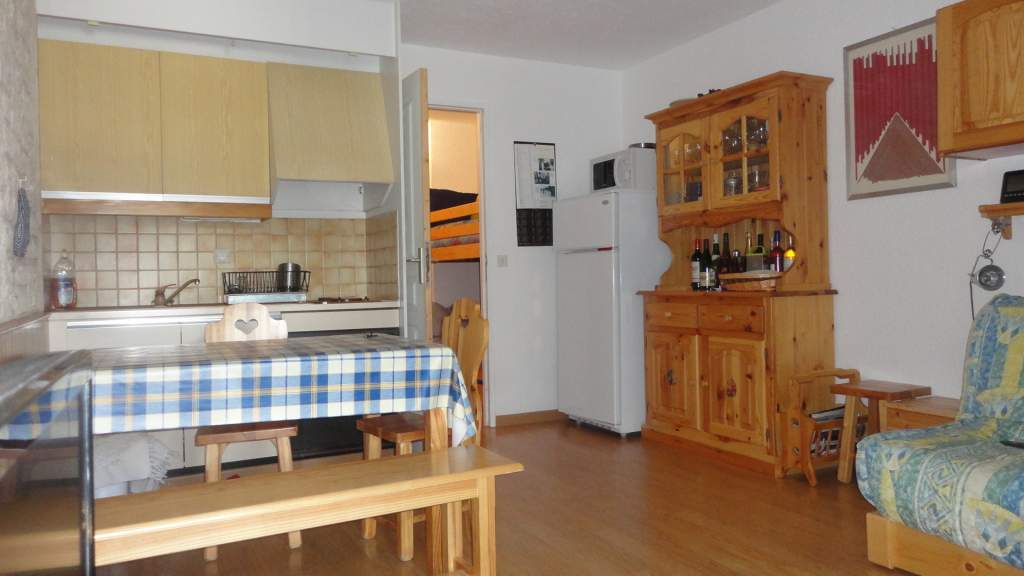 APARTMENT 1 ROOM FOR SALE - MONTGENEVRE VILLAGE - 27,94 m2 - 157 000 €