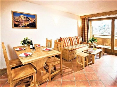 APARTMENT 2 ROOMS FOR SALE - MONTGENEVRE RESIDENCE DE TOURISME - 31,66 m2 - 124 000 €