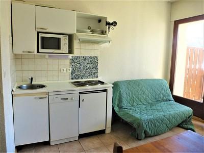 APARTMENT 2 ROOMS FOR SALE - MONTGENEVRE VILLAGE - 26,5 m2 - 86000 €