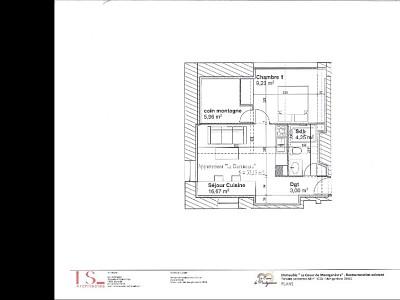 APARTMENT 2 ROOMS - MONTGENEVRE VILLAGE - 33,15 m2 - SOLD