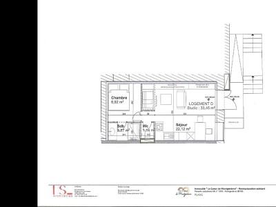 APARTMENT 2 ROOMS FOR SALE - MONTGENEVRE VILLAGE - 33,45 m2 - 129000 €
