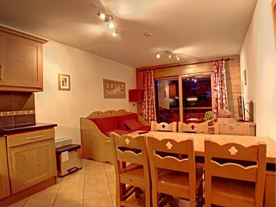 APARTMENT 3 ROOMS FOR SALE - MONTGENEVRE RESIDENCE DE TOURISME - 51,82 m2 - 296500 €