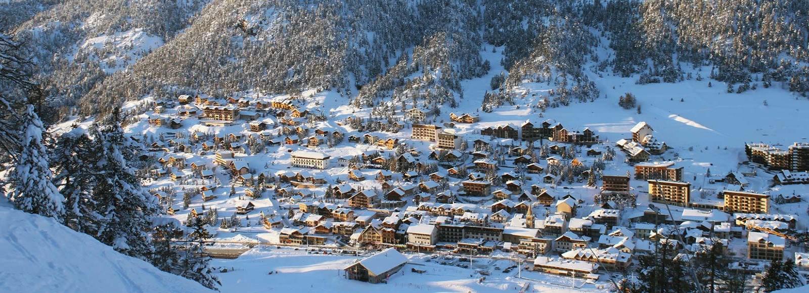 Montgenèvre - Une station de ski à deux pas de la frontière Italienne