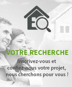 Enregistrez votre recherche immobilière